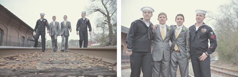 Carrollton Train Depot Wedding Photography - Whitney and Eric Wedding - Six Hearts Photography28
