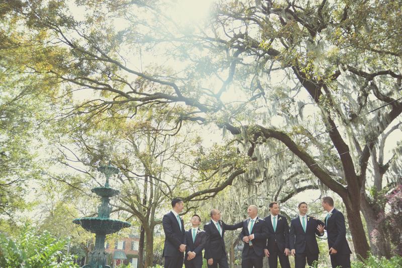 Savannah Wedding Photography - LaFayette Square - Amanda + John - Six Hearts Photography23