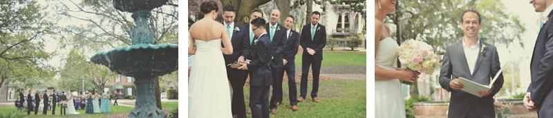 Savannah Wedding Photography - LaFayette Square - Amanda + John - Six Hearts Photography27