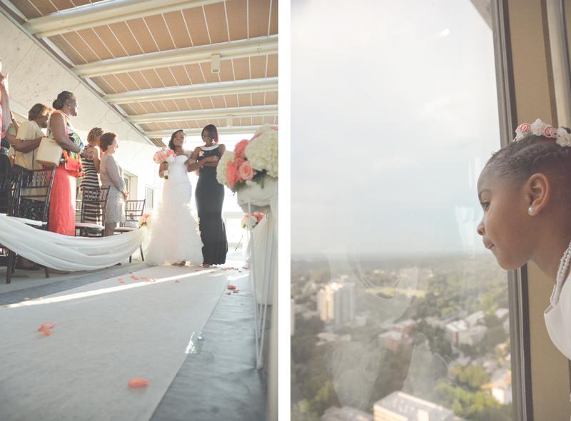 Atlanta Peachtree Club Wedding Photography - Keyanna and Jesse - Six Hearts Photography23