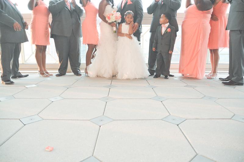 Atlanta Peachtree Club Wedding Photography - Keyanna and Jesse - Six Hearts Photography27