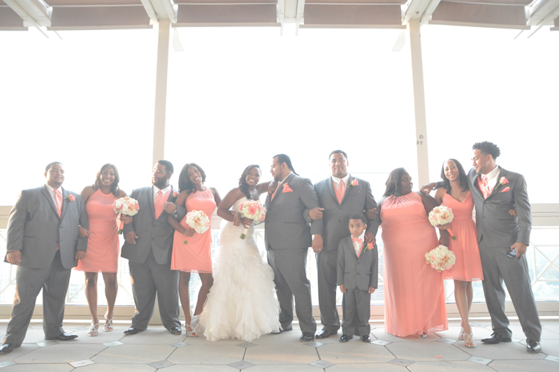 Atlanta Peachtree Club Wedding Photography - Keyanna and Jesse - Six Hearts Photography30