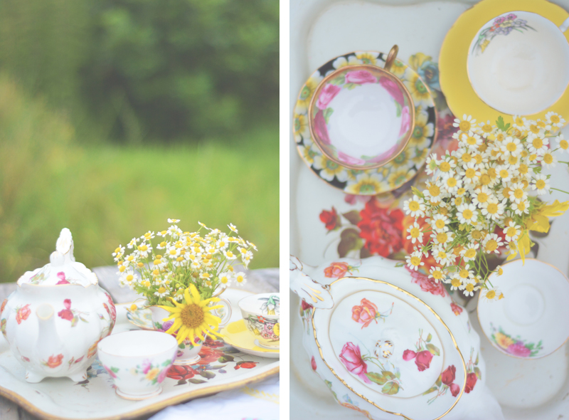 Same Sex Sunflower Field Wedding - Brooke + Cheyenne Elopement Picnic - Six Hearts Photography 04