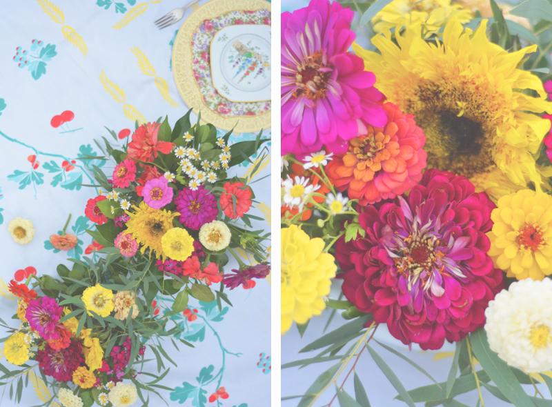 Same Sex Sunflower Field Wedding - Brooke + Cheyenne Elopement Picnic - Six Hearts Photography 05