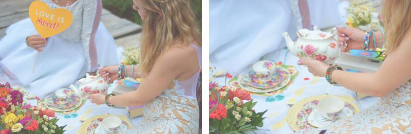 Same Sex Sunflower Field Wedding - Brooke + Cheyenne Elopement Picnic - Six Hearts Photography 14