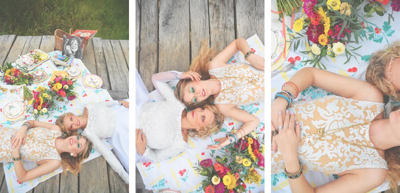 Same Sex Sunflower Field Wedding - Brooke + Cheyenne Elopement Picnic - Six Hearts Photography 21