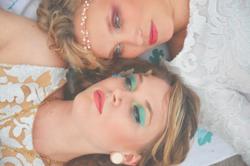 Same Sex Sunflower Field Wedding - Brooke + Cheyenne Elopement Picnic - Six Hearts Photography 24