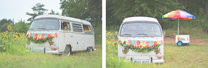Same Sex Sunflower Field Wedding - Brooke + Cheyenne Elopement Picnic - Six Hearts Photography 26
