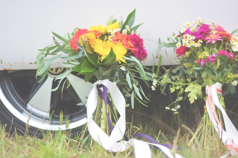 Same Sex Sunflower Field Wedding - Brooke + Cheyenne Elopement Picnic - Six Hearts Photography 30