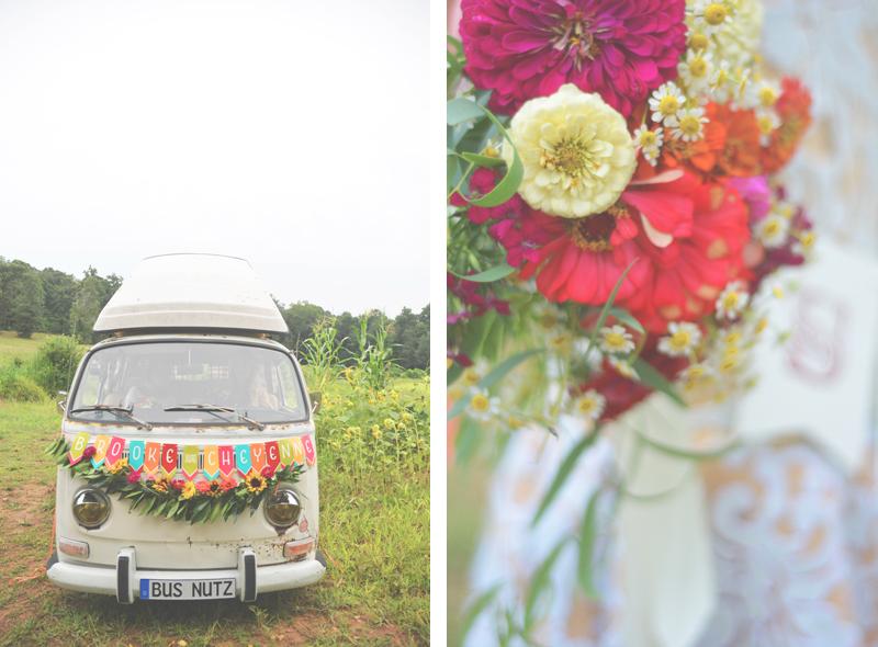 Same Sex Sunflower Field Wedding - Brooke + Cheyenne Elopement Picnic - Six Hearts Photography 31