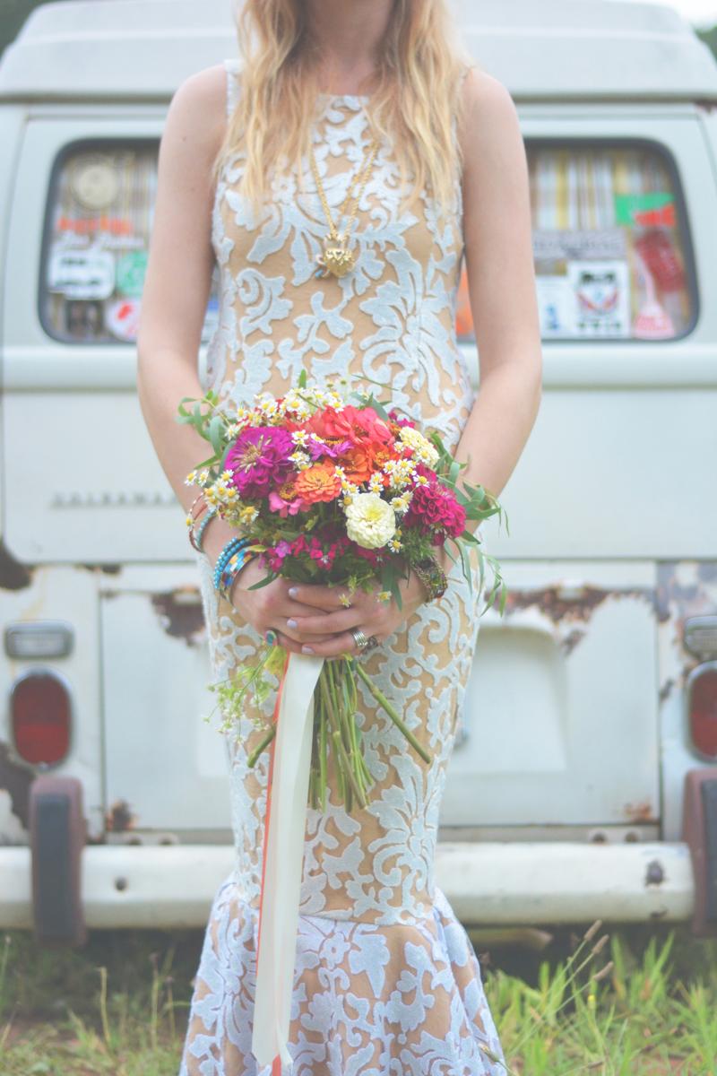 Same Sex Sunflower Field Wedding - Brooke + Cheyenne Elopement Picnic - Six Hearts Photography 41