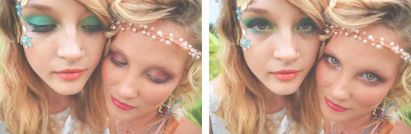 Same Sex Sunflower Field Wedding - Brooke + Cheyenne Elopement Picnic - Six Hearts Photography 42