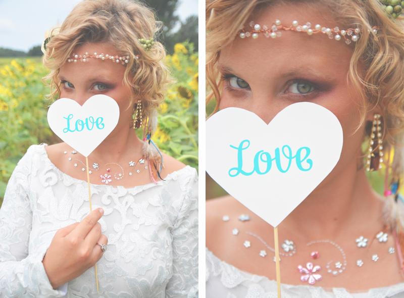 Same Sex Sunflower Field Wedding - Brooke + Cheyenne Elopement Picnic - Six Hearts Photography 44
