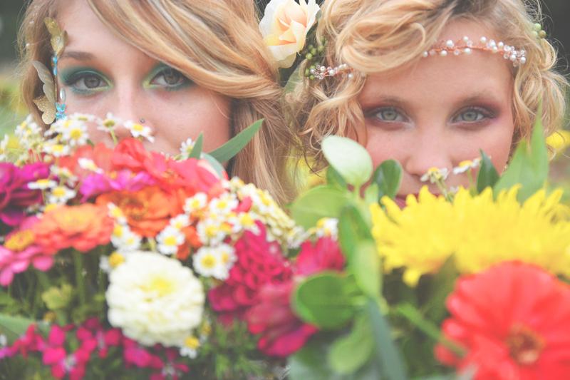 Same Sex Sunflower Field Wedding - Brooke + Cheyenne Elopement Picnic - Six Hearts Photography 49