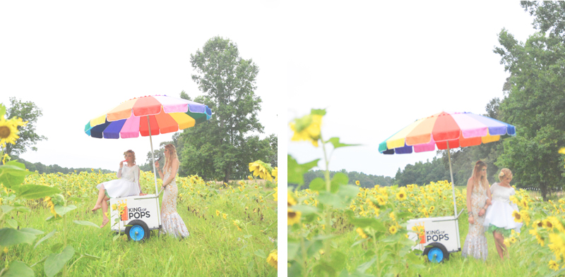 Same Sex Sunflower Field Wedding - Brooke + Cheyenne Elopement Picnic - Six Hearts Photography 60