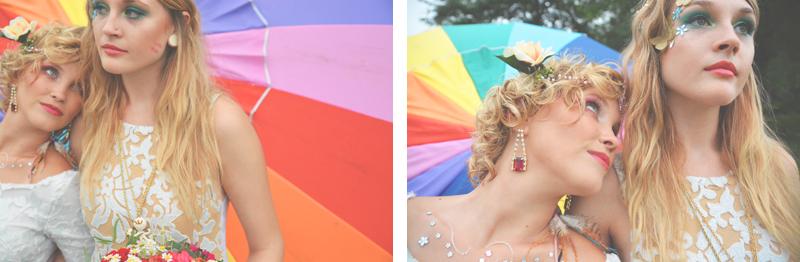 Same Sex Sunflower Field Wedding - Brooke + Cheyenne Elopement Picnic - Six Hearts Photography 64