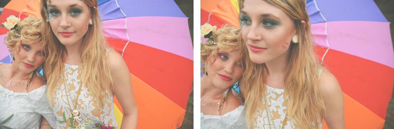 Same Sex Sunflower Field Wedding - Brooke + Cheyenne Elopement Picnic - Six Hearts Photography 65