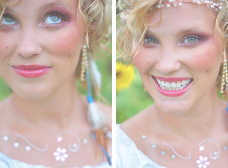 Same Sex Sunflower Field Wedding - Brooke + Cheyenne Elopement Picnic - Six Hearts Photography 71