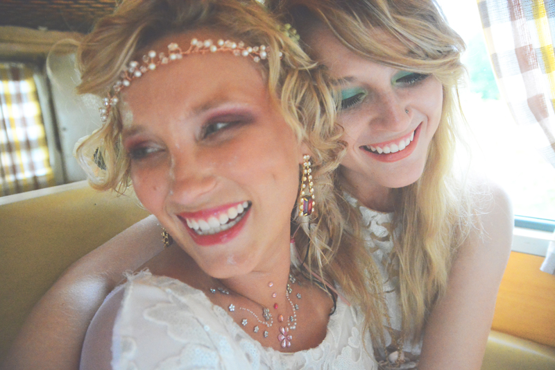 Same Sex Sunflower Field Wedding - Brooke + Cheyenne Elopement Picnic - Six Hearts Photography 88