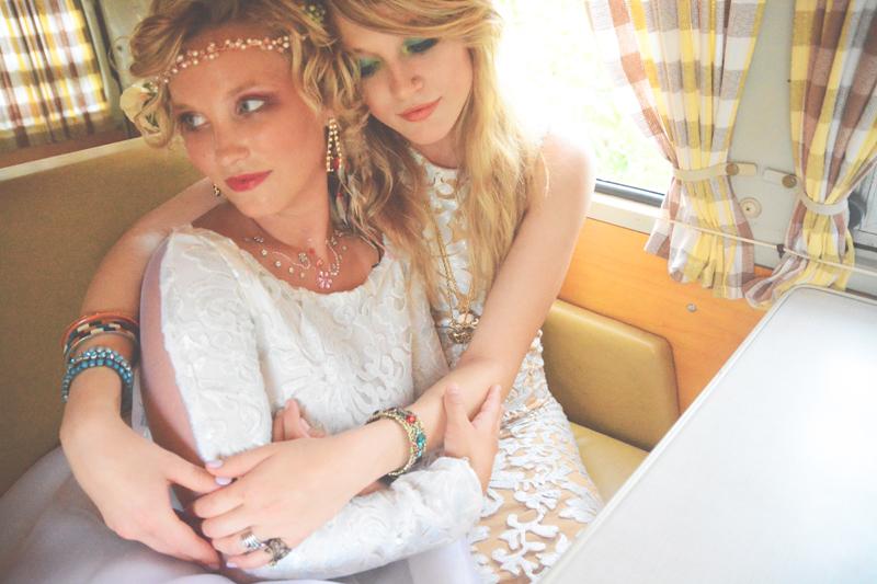 Same Sex Sunflower Field Wedding - Brooke + Cheyenne Elopement Picnic - Six Hearts Photography 89