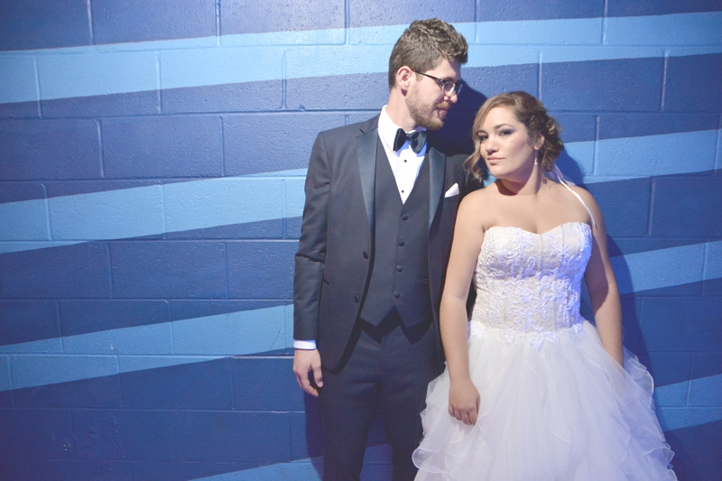 Atlanta Bowling Alley Wedding - Six Hearts Photography 001