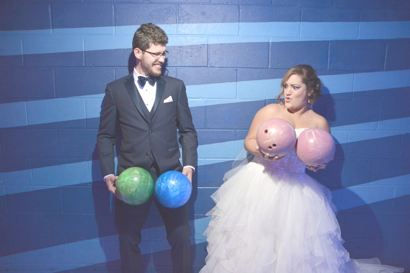 Atlanta Bowling Alley Wedding - Six Hearts Photography 004