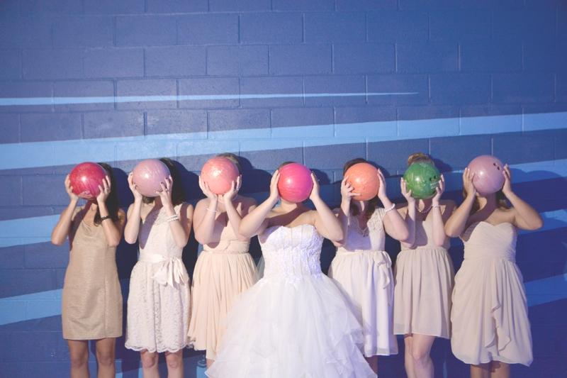 Atlanta Bowling Alley Wedding - Six Hearts Photography 006