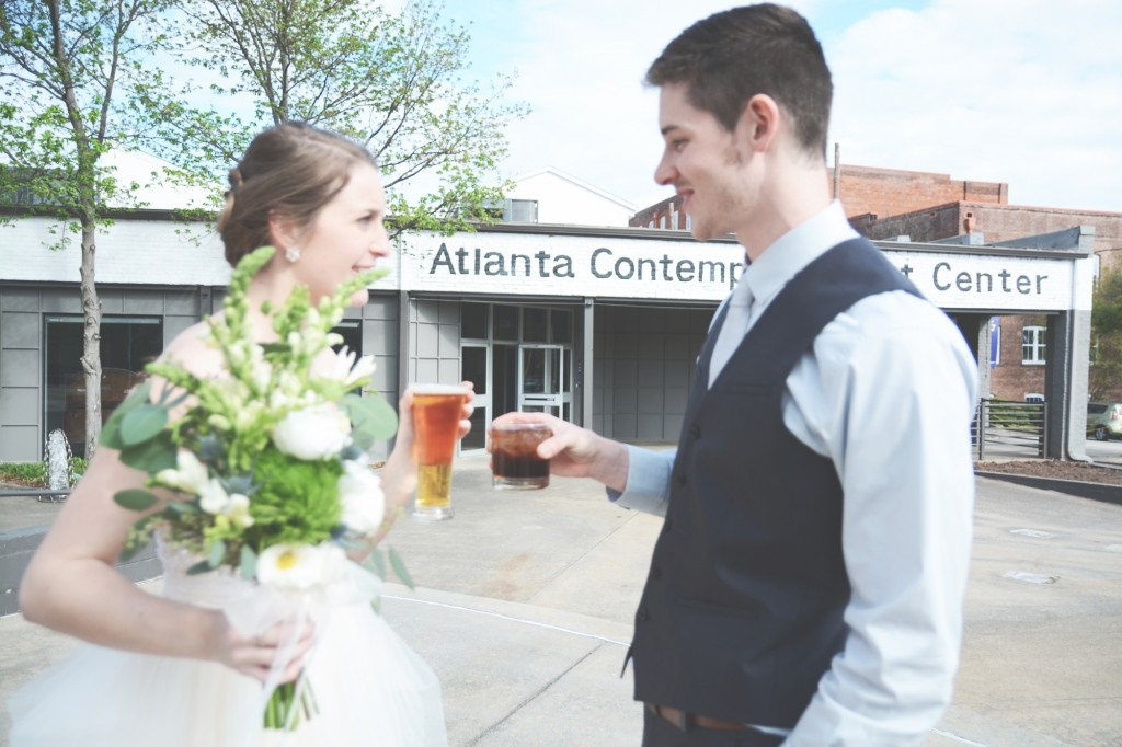 Atlanta Contemporary Arts Center Wedding - Six Hearts Photography13